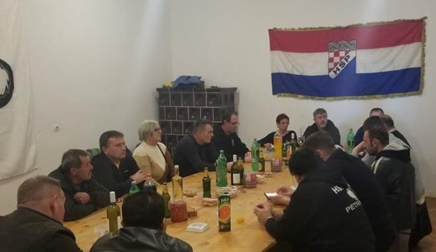 U Uštici kod Jasenovca HSP Sisačko moslavačke održao sjednicu Županijskog vijeća!