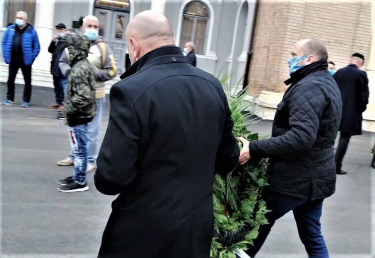 Karlo Starčević sa suradnicima nazočio sahrani vukovarskog heroja Tomislava Merčepa!