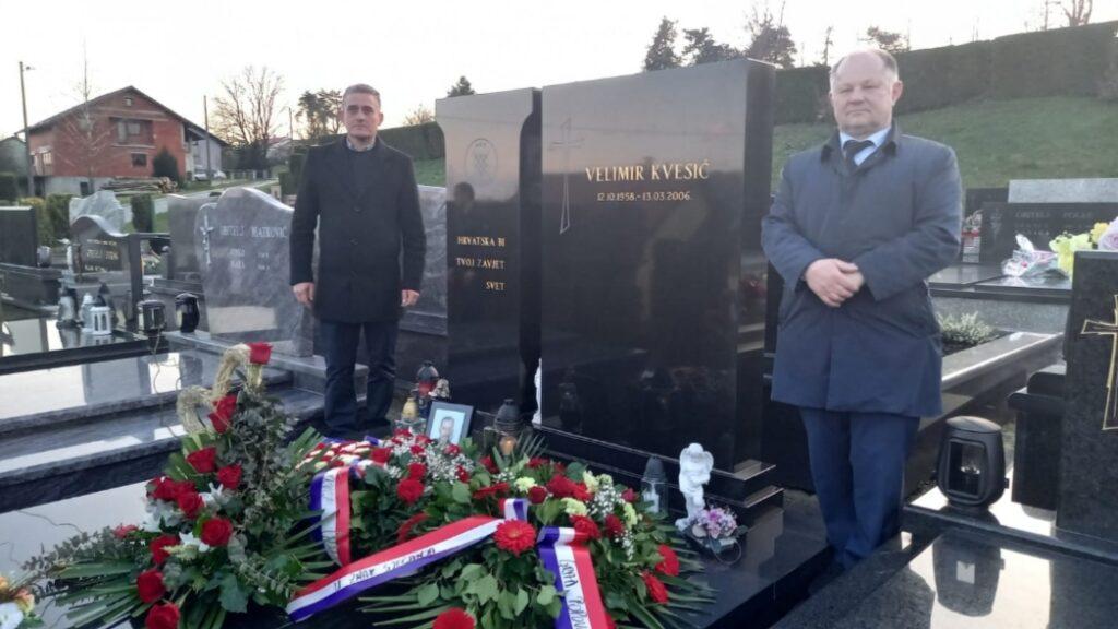 Hrvatska stranka prava obilježila 15-u godišnjicu smrti Velimira Kvesića