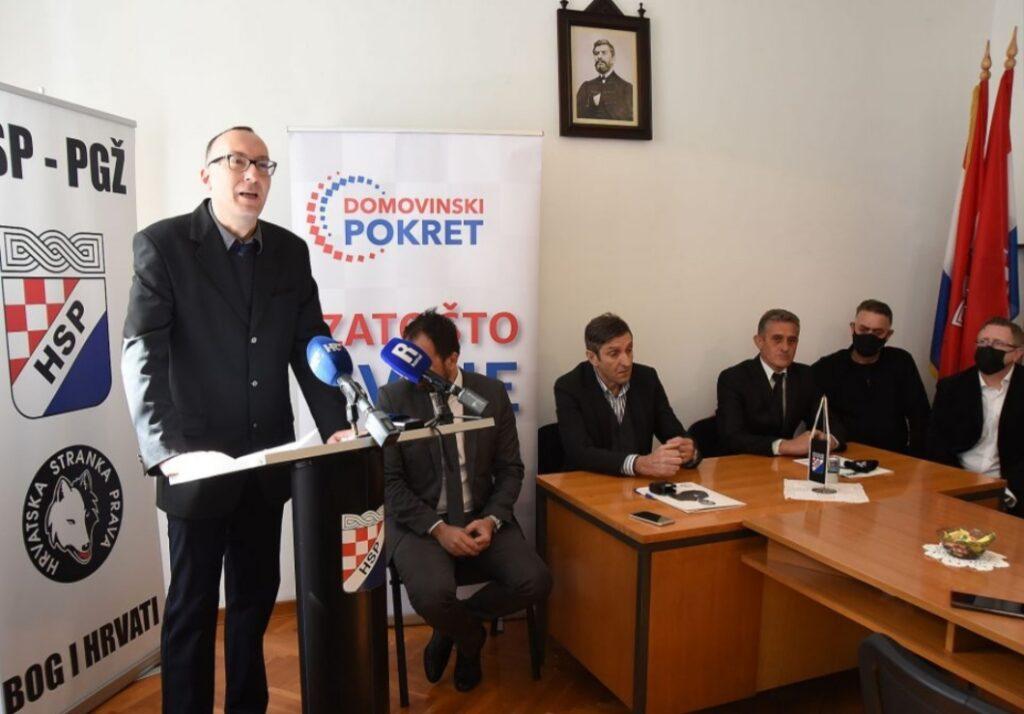 Hrvatska stranka prava PGŽ i Domovinski pokret PGŽ potpisali sporazum o koaliciji