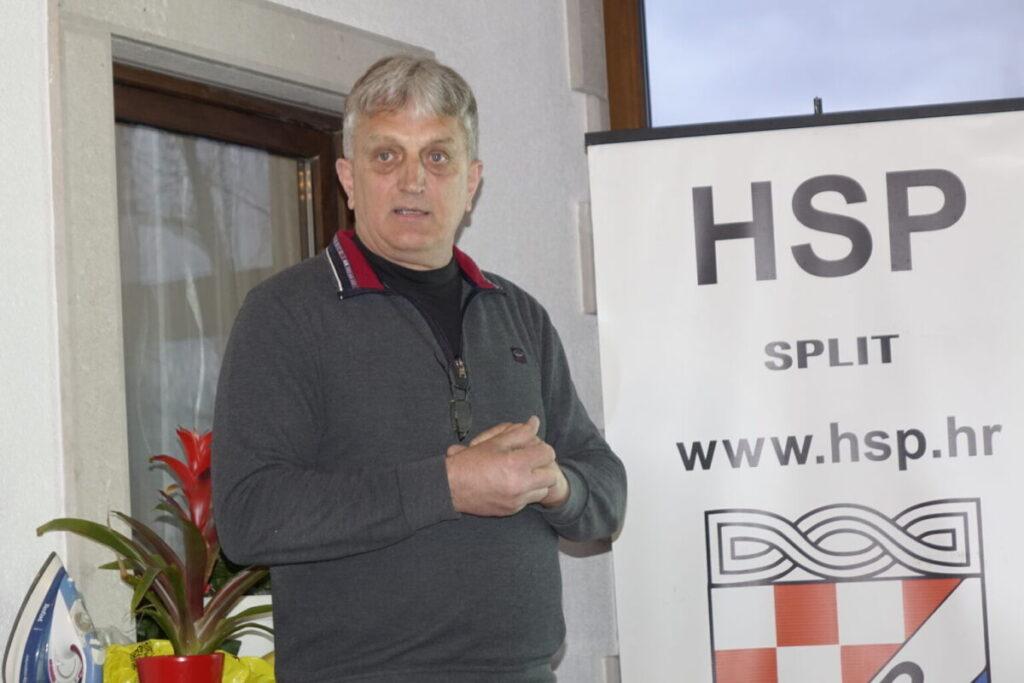 HSP-ov Tihomir Lelas je kandidat za gradonačelnika Imotskog