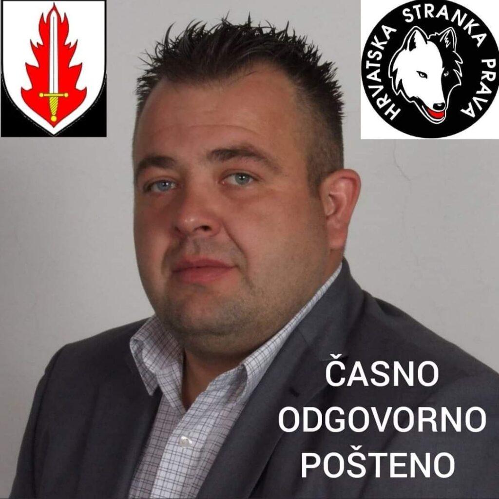 Dario Hegel kandidat HSP-a na lokalnim izborima Općine Velika Ludina