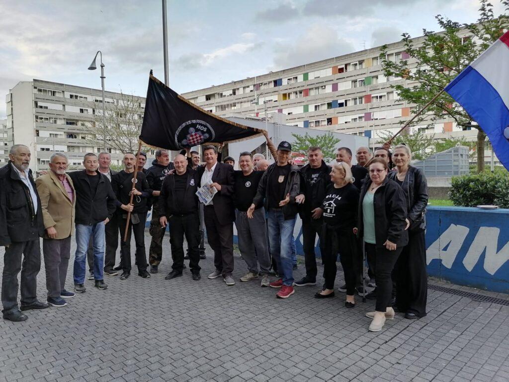 Održan predizborni skup koalicije Hrvatskih suverenista i HSP